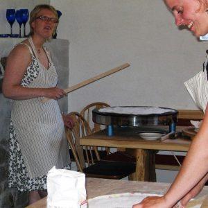 Baking av flatbrød