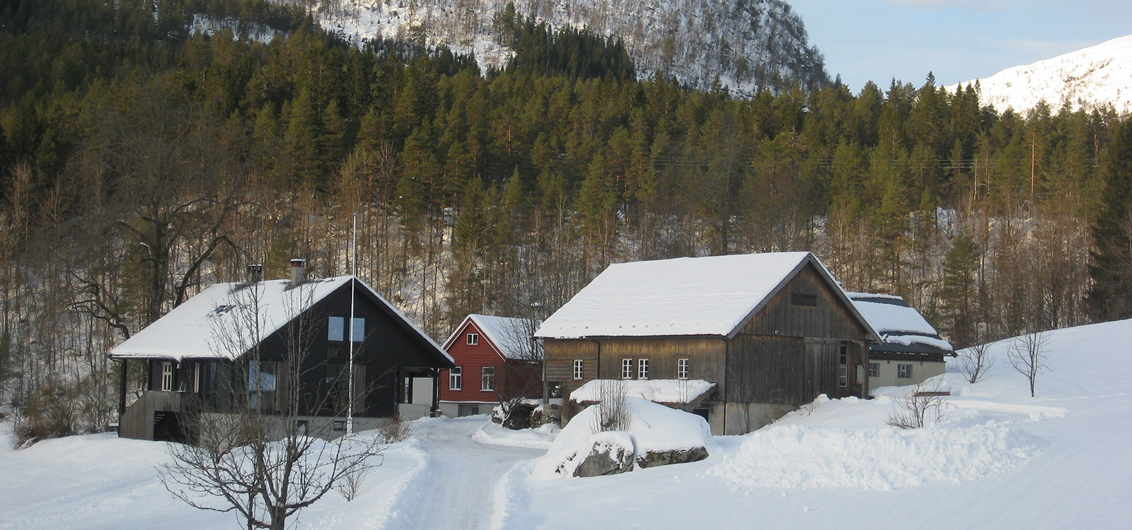 Fjordamattunet vinter