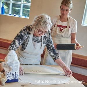 Lefsekurs. Foto: Norsk tradisjonsmat