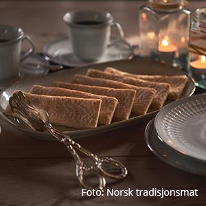 Lefser. Foto: Norsk tradisjonsmat